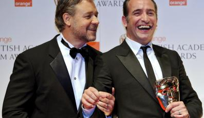"""Russell Crow i Jean Dujardin – najlepszy aktor w filmie """"Artysta"""""""