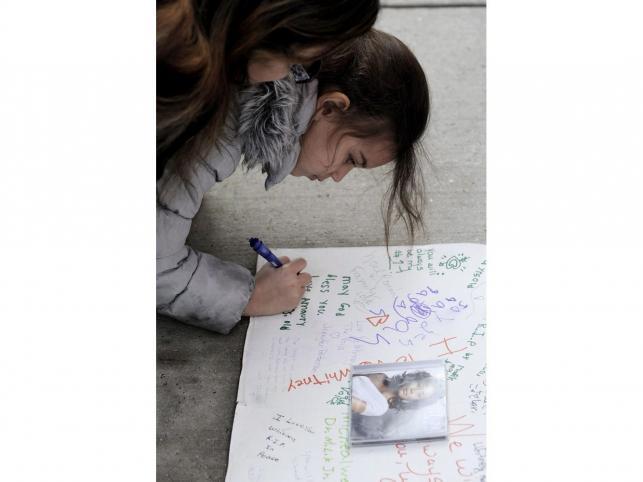 Niektórzy fani piszą listy do Whitney Houston
