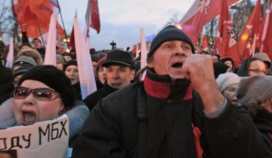 Antyputinowski protest