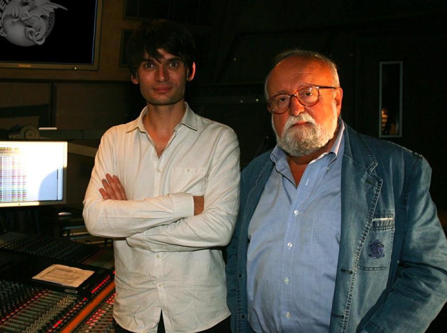 Krzysztof Penderecki i Jonny Greenwood razem w studio i na płycie