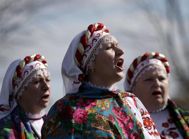 Powitanie wiosny na Białorusi