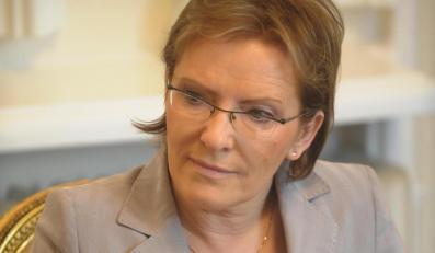 Minister Ewa Kopacz: Nie będę jak policjant!
