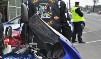 Motocykliści jak drogówka