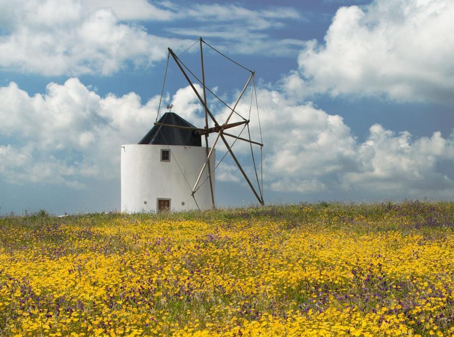 Portugalska turystyka stawia na wiatraki