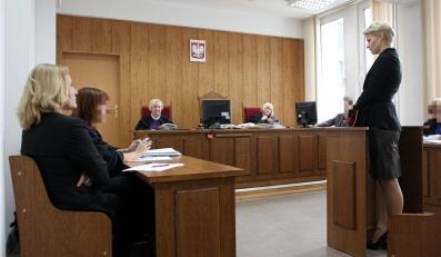 Małgorzata Kożuchowska zeznaje w sądzie