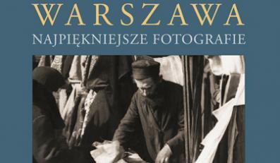 """Okładka albumu """"Przedwojenna żydowska Warszawa"""""""
