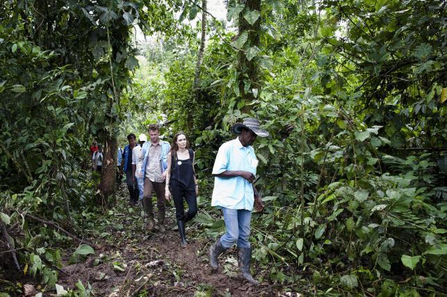 Angelina Jolie w Ekwadorze