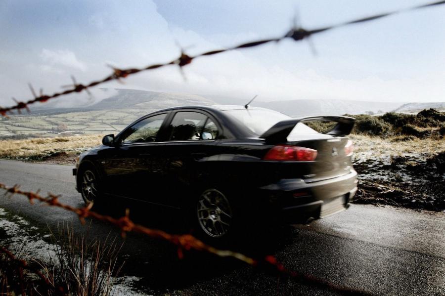Zabójca Subaru - Lancer Evo X GSR GT 350