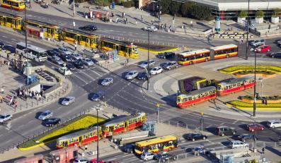 Centrum Warszawy - zdjęcie ilustracyjne