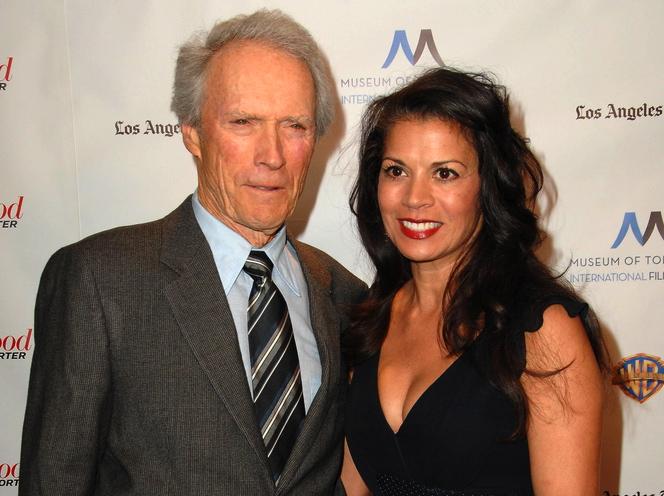 Clint Eastwood z żoną DinąRuiz