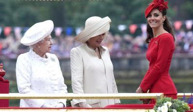 Kate Middleton i Elżbieta II