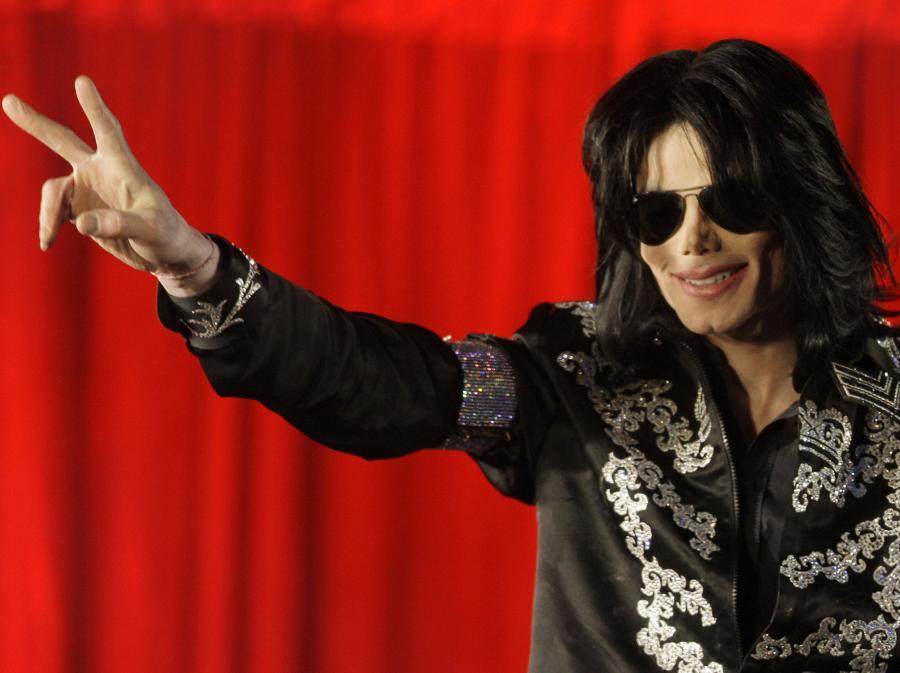 Michael Jackson się nie wygłupia w \