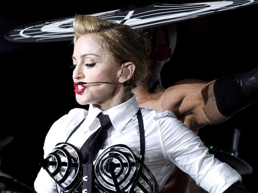 Madonna na trasie \