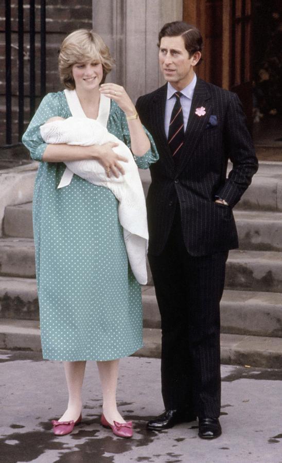 Rodzice Williama: księżna Diana i książę Karol