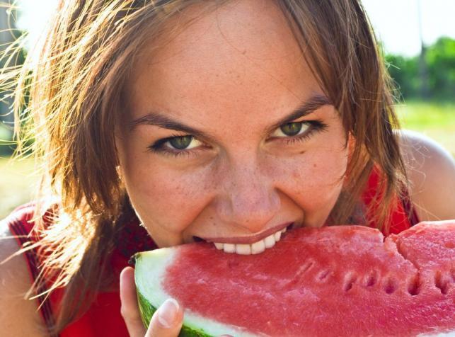 Na diecie owocowej...