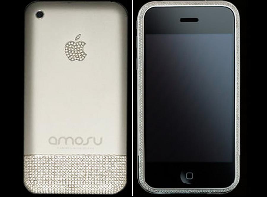 Tego iPhone\'a pokrywa ponad 1000 brylantów