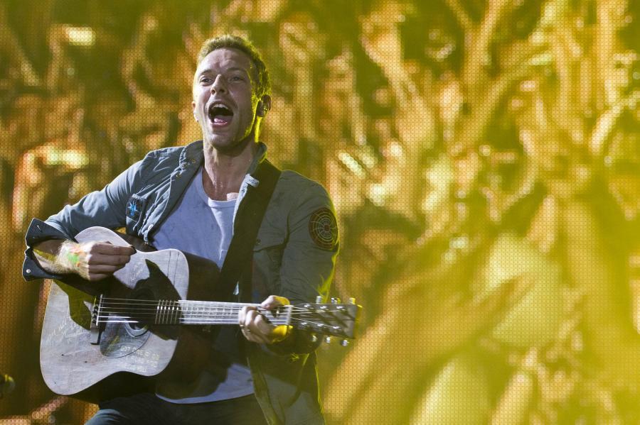 Coldplay na nowej charytatywnej składance