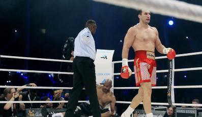 Władimir Kliczko na ringu