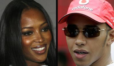 Lewis Hamilton przyłapany na randce z Naomi Campbell