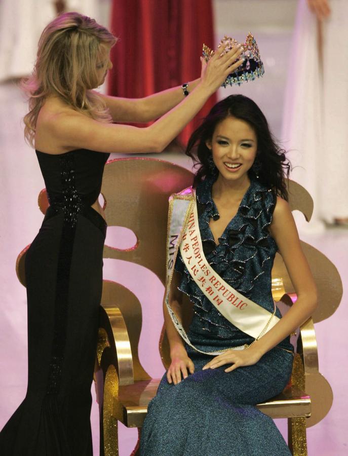 Jeszcze tylko korona i Zhang Zhi Li zostanie pełnoprawną Miss World
