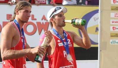 Polscy olimpijczycy: Mariusz Prudel (z lewej) i Grzegorz Fijałek (z prawej)