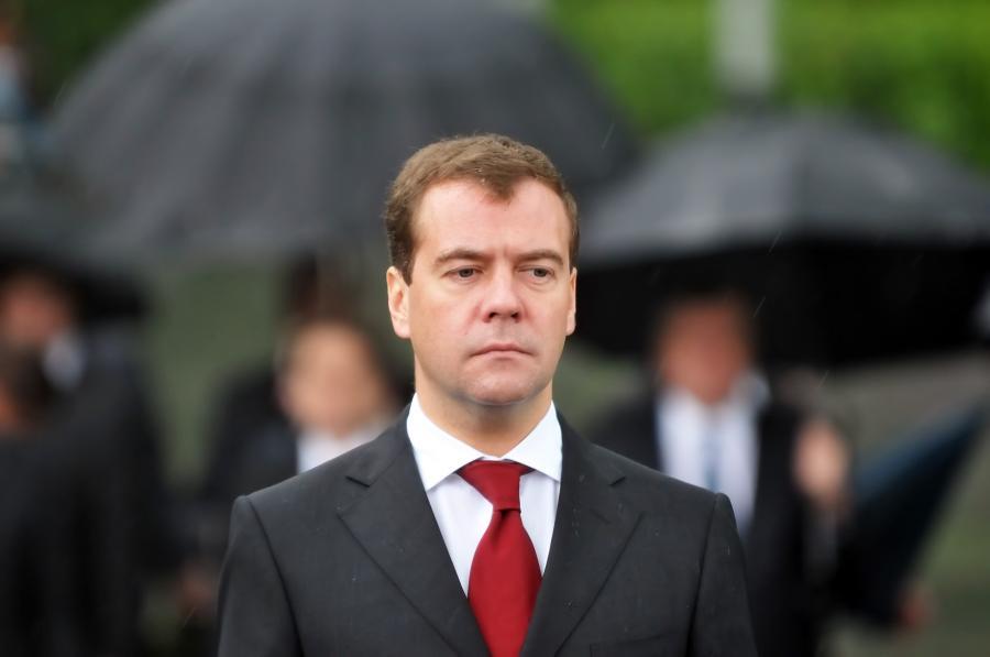 Dmitrij Miedwiediew, premier Rosji