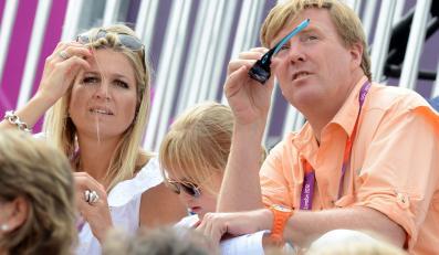 Rodziny królewskie kibicują na igrzyskach w Londynie