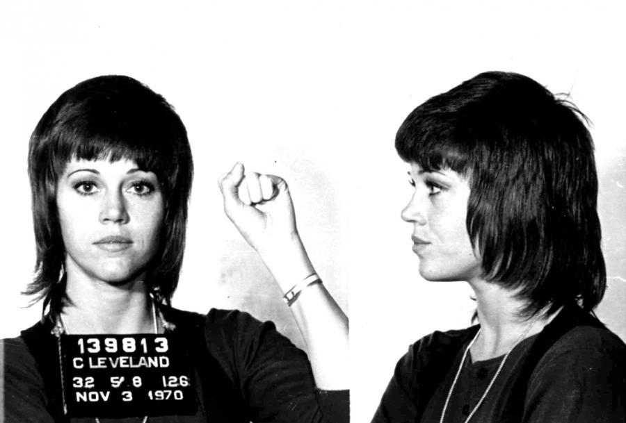 Gwiazdy w kartotekach policyjnych - Jane Fonda