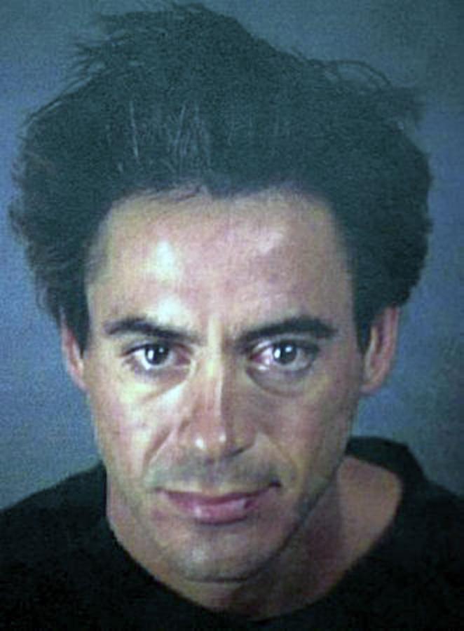 Gwiazdy w kartotekach policyjnych - Robert Downey Jr.