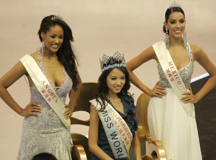 Pierwszą wicemiss została Micaela Reis (L),drugą wicemiss została Carolina Moran