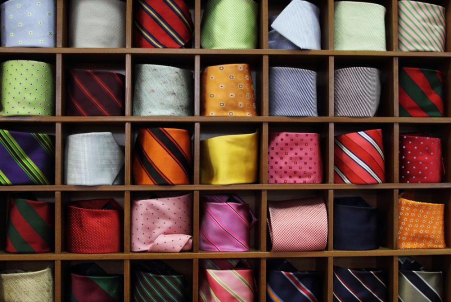 Kolekcja krawatów