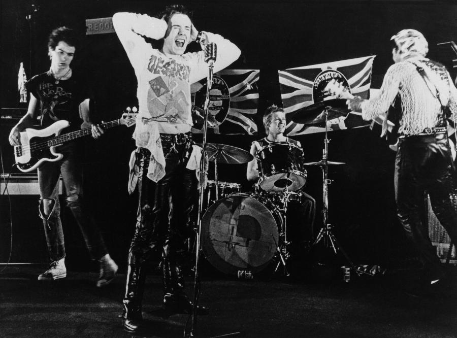 Sex Pistols w 1977 roku
