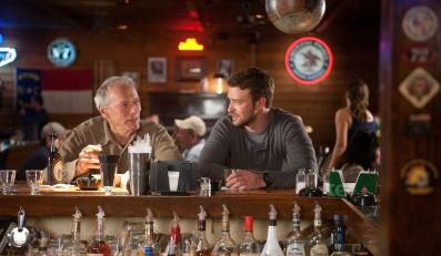 "Clint Eastwood i Justin Timberlake w ""Trouble With The Curve"""