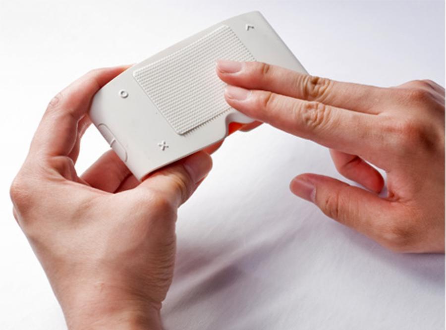 Aparat foto Samsunga dla niewidomych