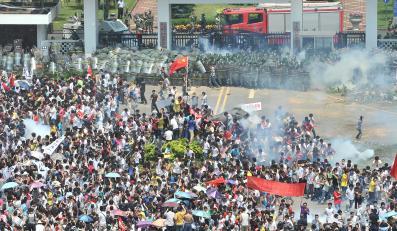 Antyjapoński protest w Chinach