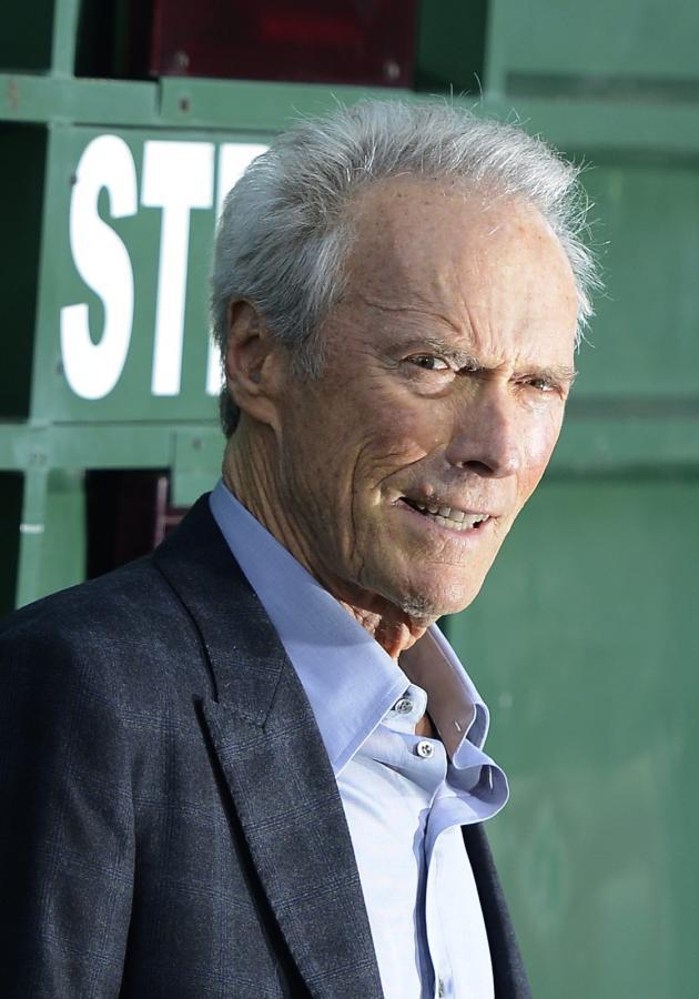 Clint Eastwood na premierze w kalifornijskim Westwood