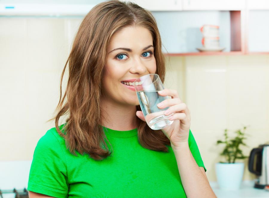 Picie wody dobre na mózg