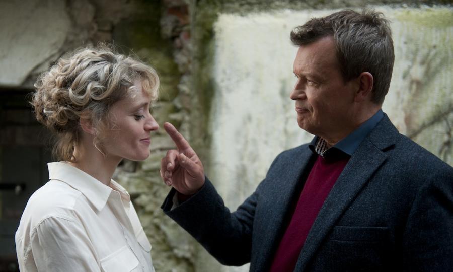 """Jan Frycz i Anne-Marie Duff w filmie """"Sanctuary"""""""