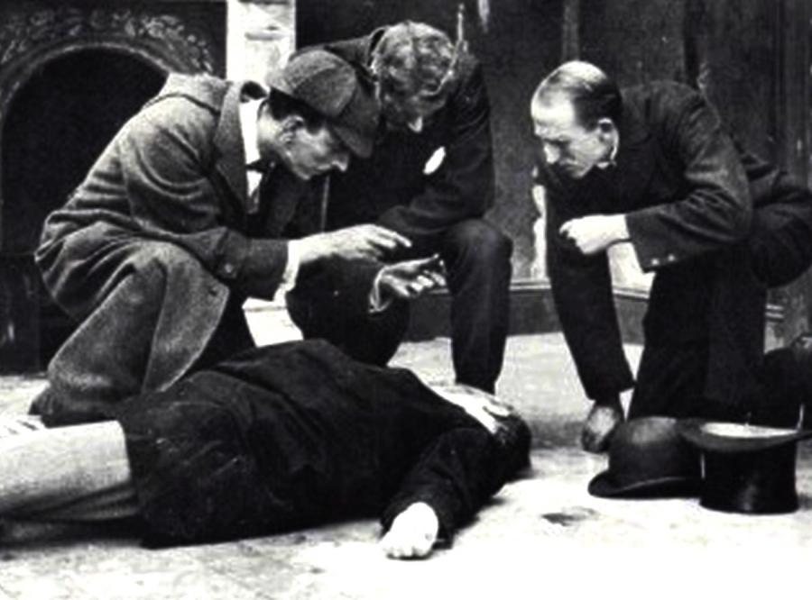 Pierwszy Sherlock Holmes - James Bragington (1914)