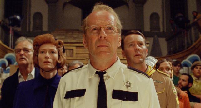 """Tilda Swinton, Bruce Willis i Edward Norton w filmie """"Moonrise Kingdom. Kochankowie z Księżyca"""""""