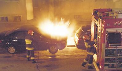Kto podpalił samochód Julii Pitery?