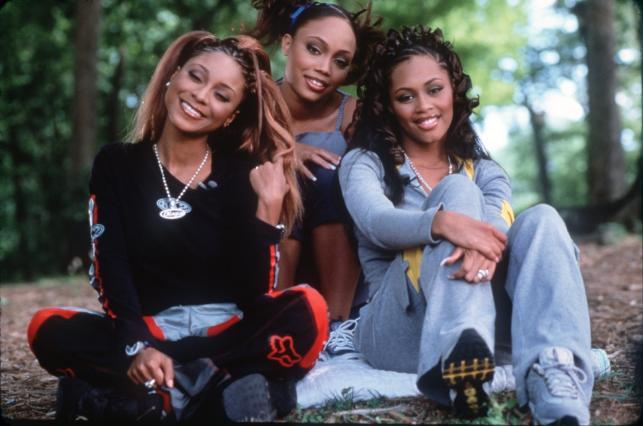 Natina Reed z koleżankami z grupy Blaque –Brandi Williams i Shamari Fears-Devoe