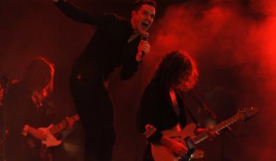 Brandon Flowers i The Killers w akcji