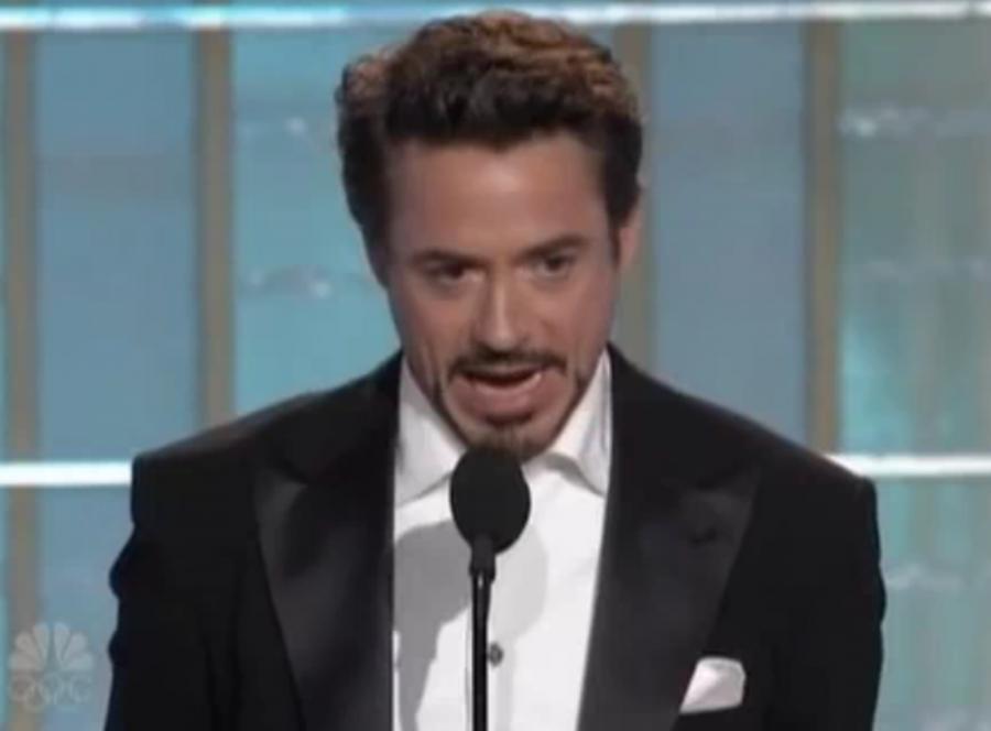 Robert Downey Jr. na Złotych Globach