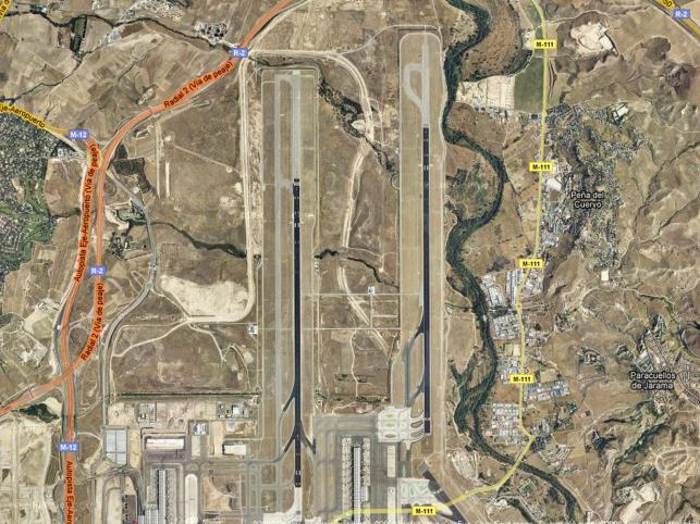 Tragedia rozegrała się na nowo wybudowanym pasie startowym madryckiego lotniska