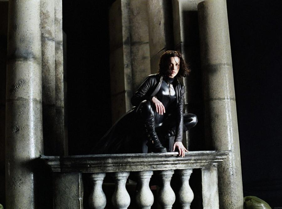 "Kate Beckinsale w filmie ""Underworld"" (2003)"