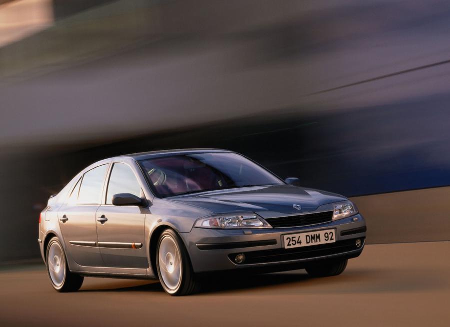 Renault laguna - 85. miejsce w kategorii aut 8-9 letnich