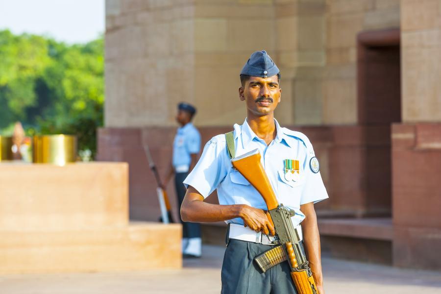 Indyjski żołnierz