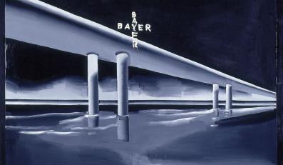 Wilhelm Sasnal, Bayer, 2000