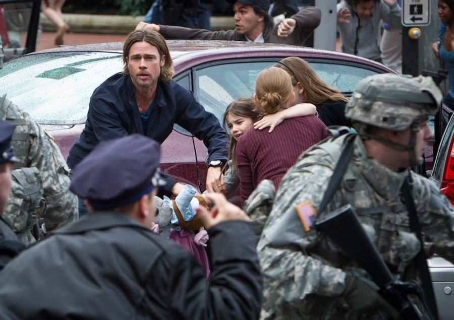 Brad Pitt ratuje świat przed zombie